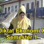 Diktat Ekonomi Kelas X Semester 1