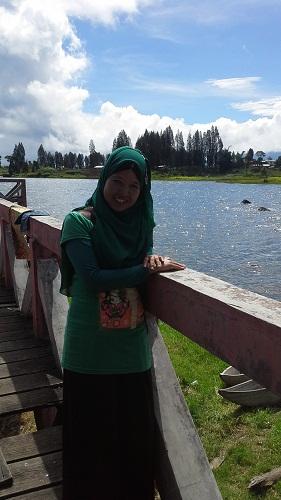 """Pesona Danau Kembar: Dokumentasi Foto saat di Dermaga """"Danau Diateh"""" (Rabu, 3/8/2016)"""