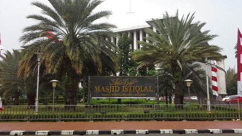 Masjid Istiqlal Taman Wijaya Kusuma Jakarta (Kamis, 18 Agustus 2016)