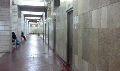 Deretan kamar mandi dan wc Masjid Istiqlal Jakarta (Kamis18 Agustus 2016)