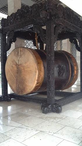 Bedug Raksasa Masjid Istiqlal Jakarta (Kamis18 Agustus 2016)