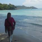 Bersantai Menikmati Teduh dan Indahnya Pantai Gapang Sabang Pulau Weh