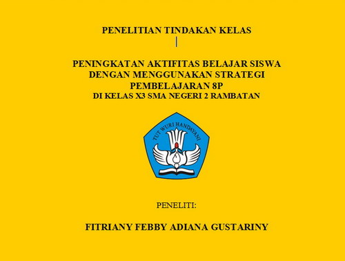 Cover 1 - PTK 1 Aktifitas Belajar