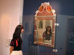 Cermin ajaib Putri Salju di Spessart Museum