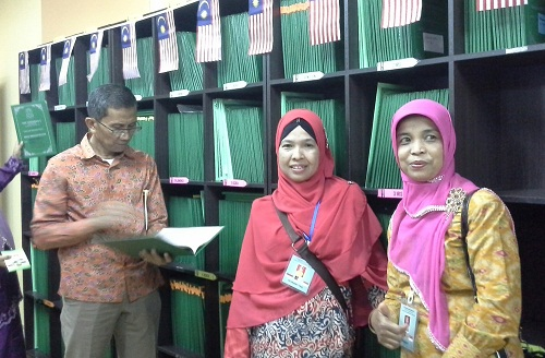 Dokumentasi Foto di Bilik Dokumentasi SMK Seremban 2