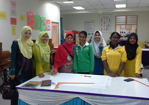 Dokumentasi Foto di Bilik KH- Bilik Jahit SMK Seremban 2