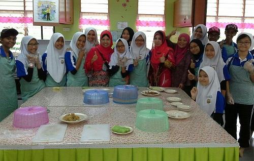Dokumentasi Foto di Bilik KH-Bilik Masakan SMK Seremban 2