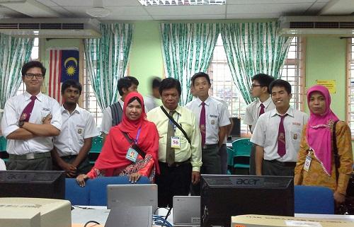 Dokumentasi Foto di Makmal Komputer SMK Seremban 2