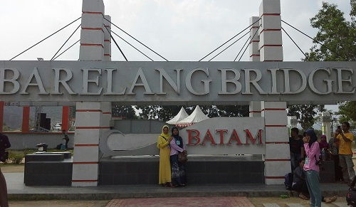 Dokumentasi Foto di Barelang Bridge Batam
