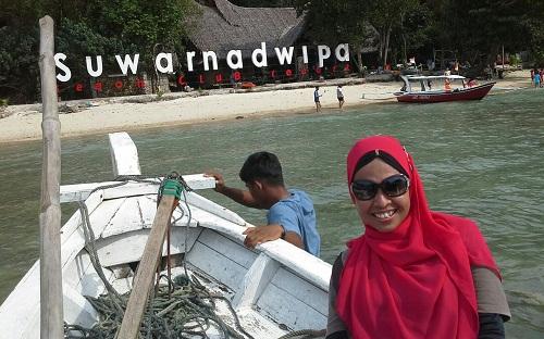 Dokumentasi Foto saat Perahu Merapat ke Suwarnadwipa (28-12-2015)