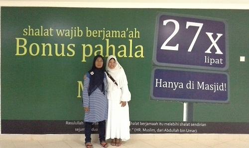 Bonus Pahala Sholat Wajib Berjamaah (Basemen Mesjid Agung Madani Islamic Centre Pasir Pangaraian Rokan Hulu, Kamis 5/5/2016)