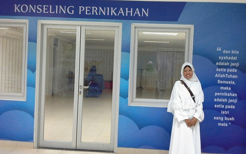 Konseling Pernikahan (Basemen Mesjid Agung Madani Islamic Centre Pasir Pangaraian Rokan Hulu, Kamis 5/5/2016)