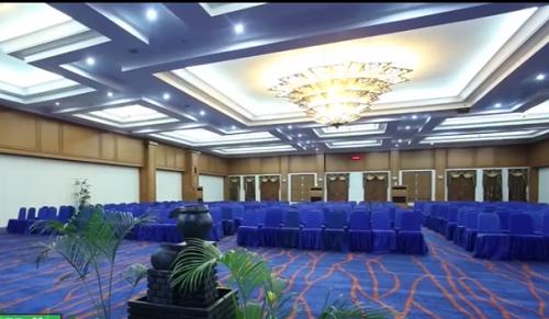 Hall Convention Mesjid Agung Madani Islamic Centre (Pasir Pangaraian Rokan Hulu, Kamis 5/5/2016)