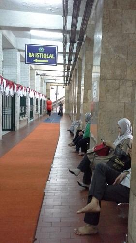 Taman Kanak-kanak Islam (RA Istiqlal) Masjid Istiqlal Jakarta  (Kamis18 Agustus 2016)