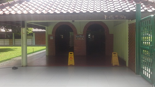Area Tempat Wudhu Kaum Laki-laki Masjid UI Depok (Universitas Indonesia Depok, Jumat 19 Agustus 2016)