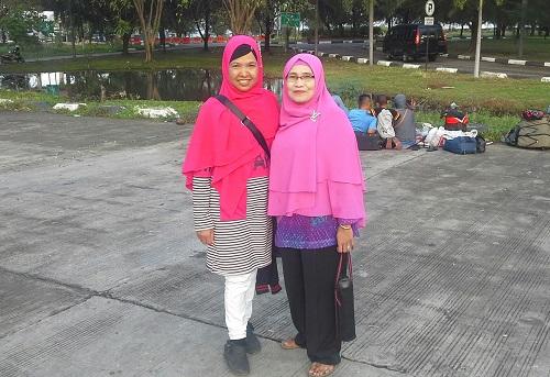 Dokumentasi foto di lokasi parkir mobil Pelabuhan Ulee Lheue Banda Aceh (Kamis 29 Desember 2016)