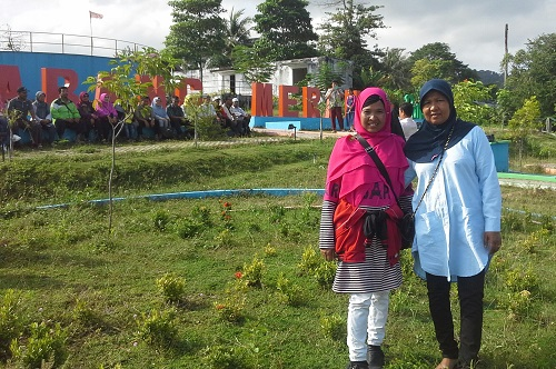 Dokumentasi Foto di Taman Sabang-Merauke Kota Sabang Pulau Weh (Kamis, 29 Desember 2016)