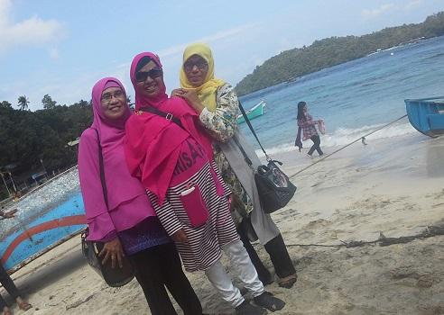 Berkunjung ke Pantai Iboih Sabang Pulau Weh (Kamis, 29 Desember 2016)