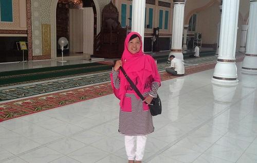 Dokumentasi Foto saat di dalam Masjid Agung Babussalam Sabang Pulau Weh (Kamis 29 Desember 2016)