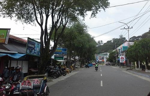 Salah satu sisi dari kota Sabang  (Kamis,  29 Desember 2016)