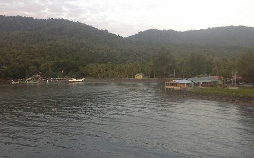 Salah satu sisi Sabang Pulau Weh kala pagi hari (Jumat,  30 Desember 2016)