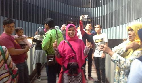 Dokumentasi Foto di Jembatan Harapan Museum Tsunami Aceh (Banda Aceh Jumat, 30 Desember 2016)