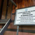 Rumah Adat Dt.Bagindo Basa Kinawai Nagari Balimbing